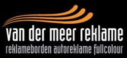 Logo Van der Meer Reklame Burgum