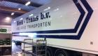 Vrachtwagen reclame Hoek Transport - Van der Meer Reklame Burgum
