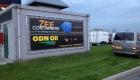 aluminium frame met doek zeecontainers - Van der Meer Reklame Burgum